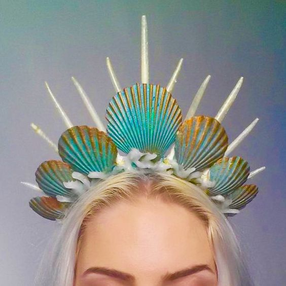 Sea siren #mermaid crown