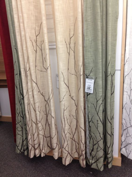 Bed bath and beyond tree curtains mom and dads house Nature inspired shower curtains