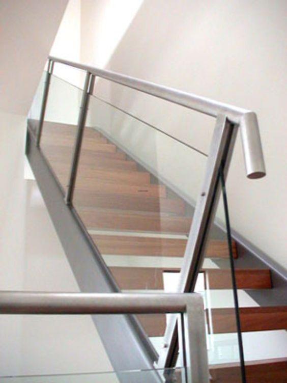Design By Michelle Waldo Interiors: Modern Stair Rails | The Volstead Design  | Pinterest | Modern Stair Railing, Modern Stairs And Stair Railing Part 54