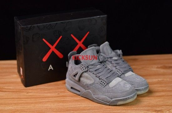Air Jordan 4 Retro Kaws Cool Grey 930155 003 Air Jordans Jordans Air Jordan Shoes