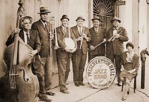 Old school Preservation Hall Jazz Band #nola #music