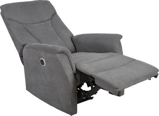 ... fauteuil relax électrique a un design à la fois sobre, élégant et
