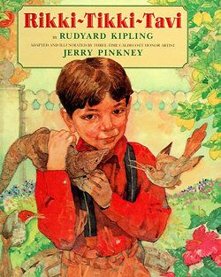 A brave mongoose saves the day. Loved this as a child!