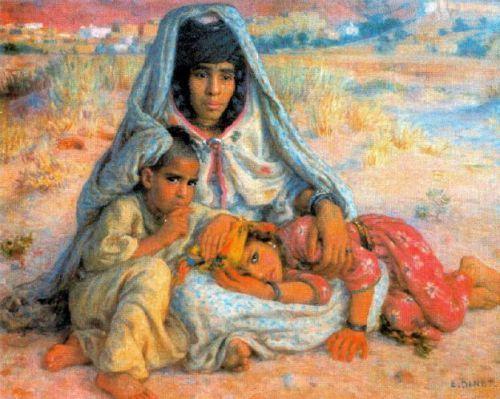 La femme répudiée Etienne Dinet (1861 - 1929, French)