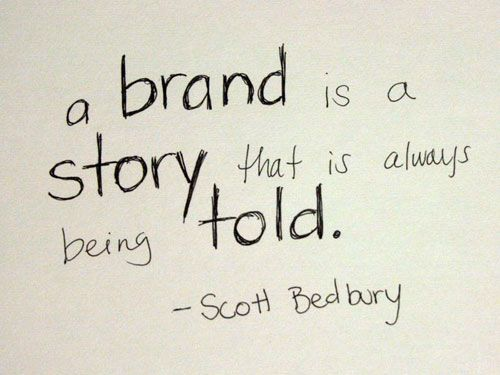 Quotes + Thoughts Storytelling - Branding Quotation