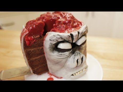 Nerdy Nummies Zombie Brain Cake Recipe