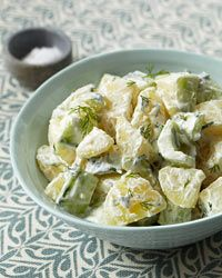 Tzatziki Potato Salad- I must try this, two of my favourite things