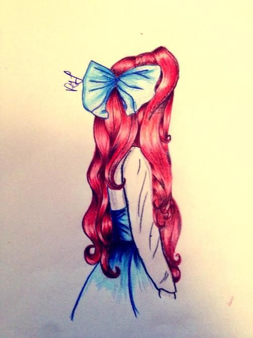 how to draw disney princess ariel