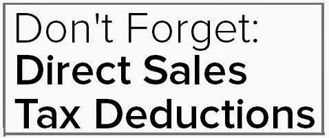 Sales Moms: Tax Deductions for Your Direct Sales Business
