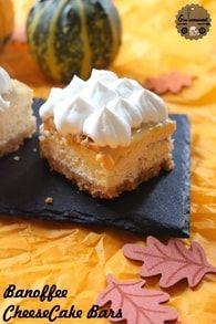 Banoffee Cheesecake Bars : Etape 4