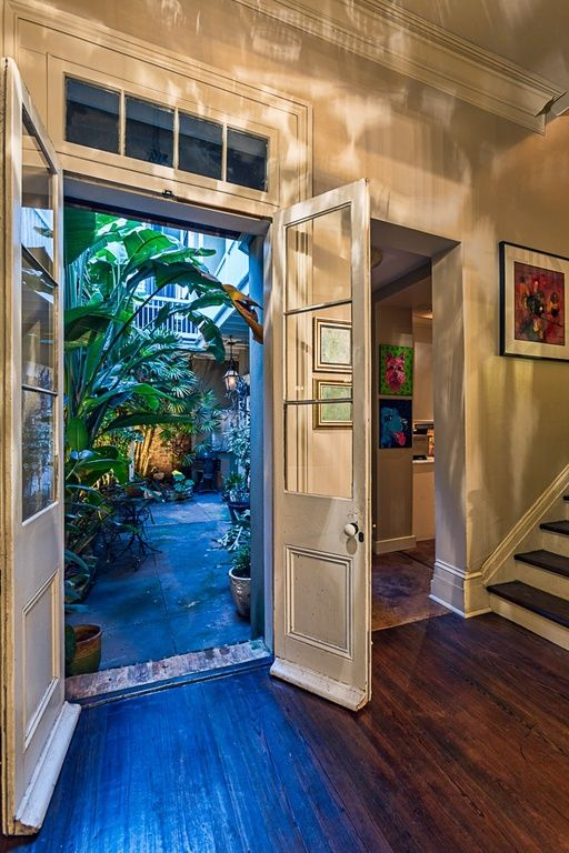 New orleans new orleans homes and the courtyard on pinterest for Interior designs new orleans