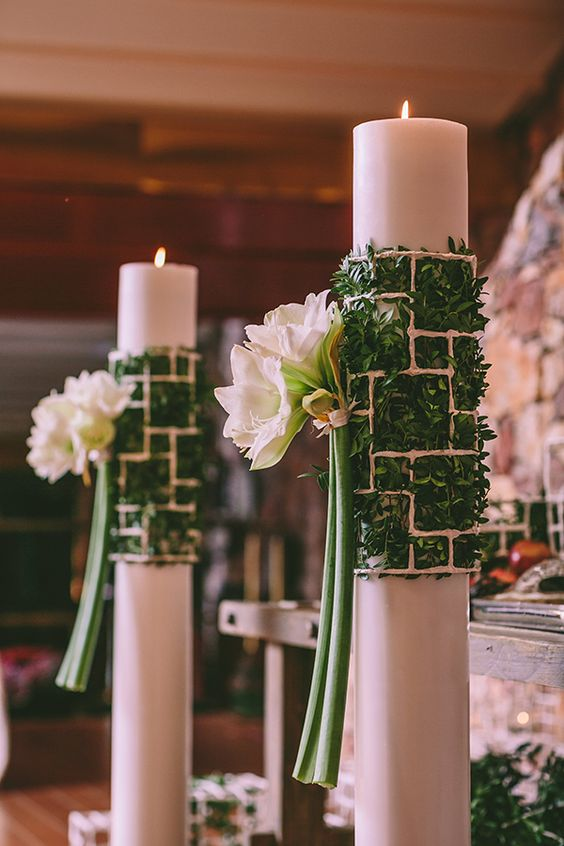 Christmas wedding ideas by Ioanna Vamvakari & Chlorofilli Flowers.