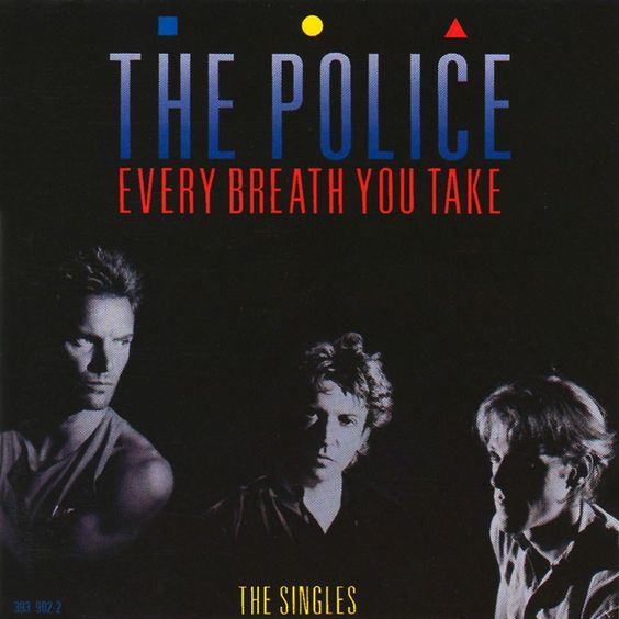 The Police – Every Breath You Take (single cover art)