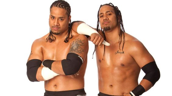 The Uso Brother's Jimmy & Jey