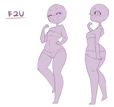 F2u Chibi Base 2 Set 2 By Ryxner Drawing Base Art Reference Photos Cartoon Drawings Grab a free set and don't forget to share your works with us! pinterest
