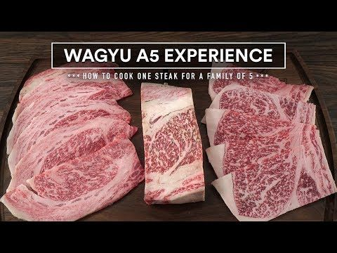 How To Cook The World S Best Beef Japanese Wagyu A5 Steak Experience Youtube Wagyu Steak Cooking