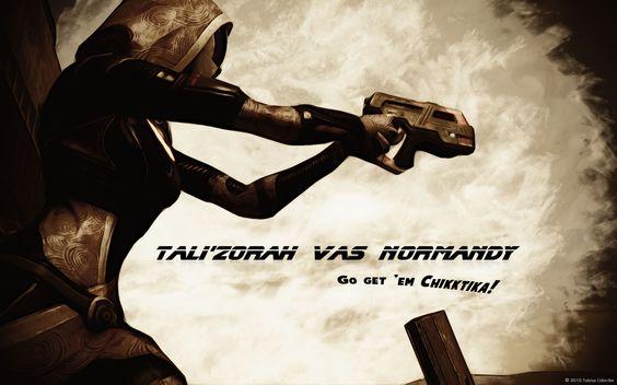 Tali'Zorah vas Normandy by palwin.deviantart.com on @deviantART