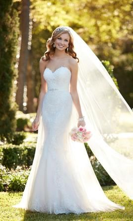 Stella York 6341: buy this dress for a fraction of the salon price on PreOwnedWeddingDresses.com