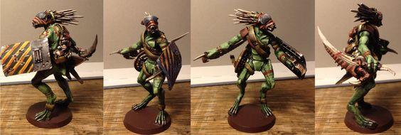 Inquisitor Scale Kroot Mercenary by Solomon-Mordecai