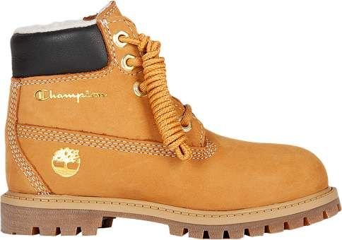 Shearling Boots - Boys Toddler - Wheat