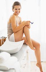 Cinco dicas para parar de a queimadura do razor