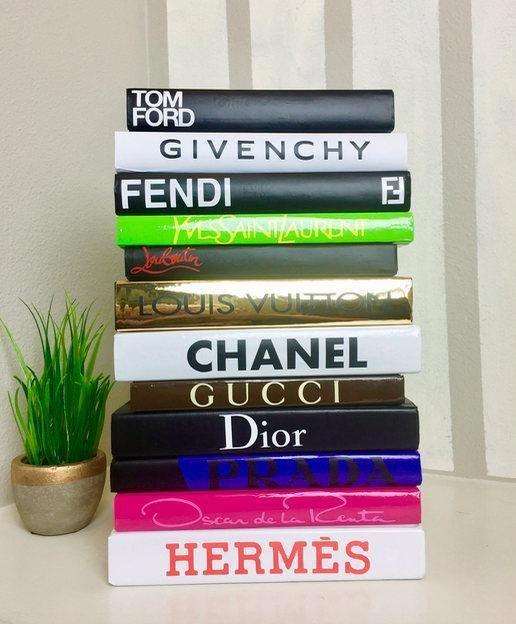 Fashion Designer Book Labels Set Of 12 3 Book Design Book Labels Emerging Designers Fashion