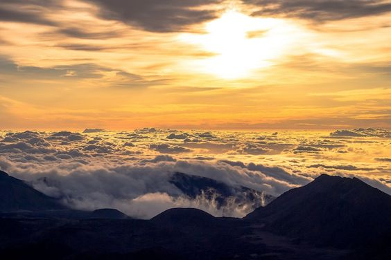 Drive Up the Spectacular Haleakala When you rent a car in Maui, most rental agreements state that the car should not be driven to Haleakala.Why? Because Haleakala is Maui's highest mountain with an elevation of 10,023 feet. To put that into perspective, pilots in unpressurized planes are required to use oxygen above 10,000 feet due to the thin atmosphere.