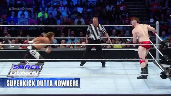 Will it be THIS easy for Chris Jericho to escape the ASYLUM this Sunday at #ExtremeRules?! #SmackDown