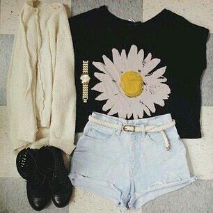 Estilo casual floral de verano ❤ tu crush se va a morir en cuanto te vea 😍💋😏