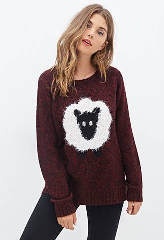 Shaggy Sheep Sweater | FOREVER21