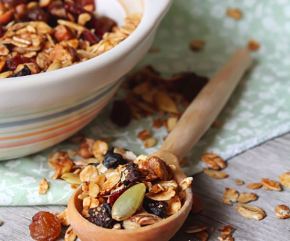 Cranberry Pumpkin Seed Granola | Recipe | Granola, Cranberries and ...