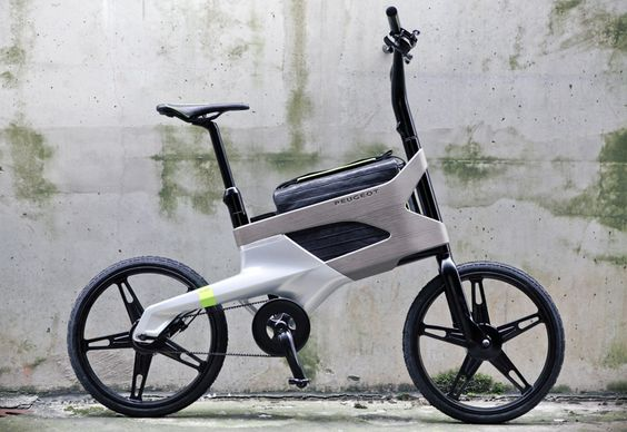 peugeot DL122 bike with laptop compartment (would be nice if you also charged it as you rode)