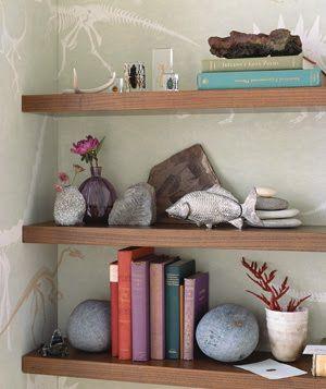 Aqui a simplicidade... Uma pedra, simples assim....
