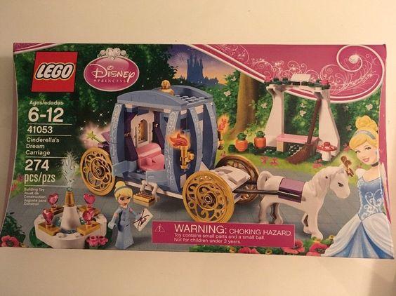 LEGO Disney Princess Set 41053 Cinderellas Dream Carriage 274 Pcs Ages 6+