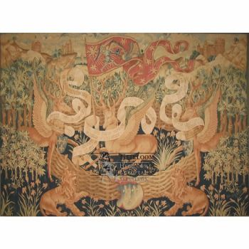 The Winged Stag tapestry