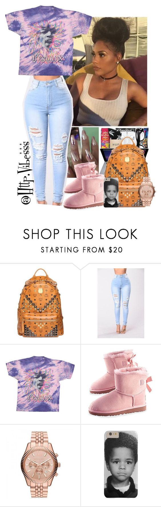 """Untitled #989"" by jazaiah7 ❤ liked on Polyvore featuring MCM and Michael Kors"