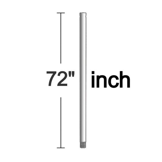 Seagull 1617-05 Downrod 1617-05-Downrod Chrome