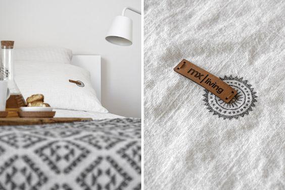 DIY | Kissenhüllen aus Leinen mit Ethno-Detail