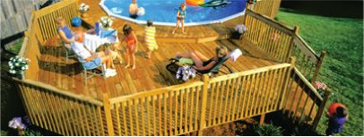 Splash Deluxe Deck Plans Deckplans Pool Landscaping