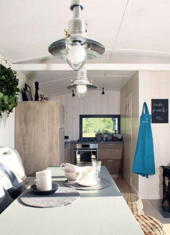 Tiny House Living | huis | Pinterest | Häuschen, Wohnen im ...