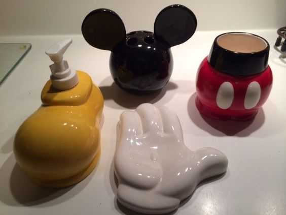 Mickey Mouse Bathroom Set Disney Gardens And Mickey Mouse Bathroom