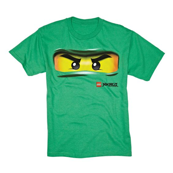 mean, green and ready to hit the books -- ninja tee