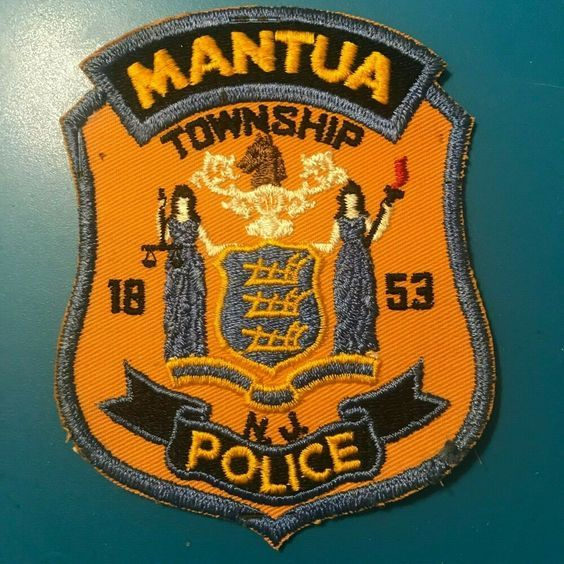 Us State Of New Jersey Mantua Township Police Department Patch Mantua Police Patches For Sale