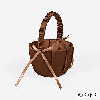 Brown Wedding Basket