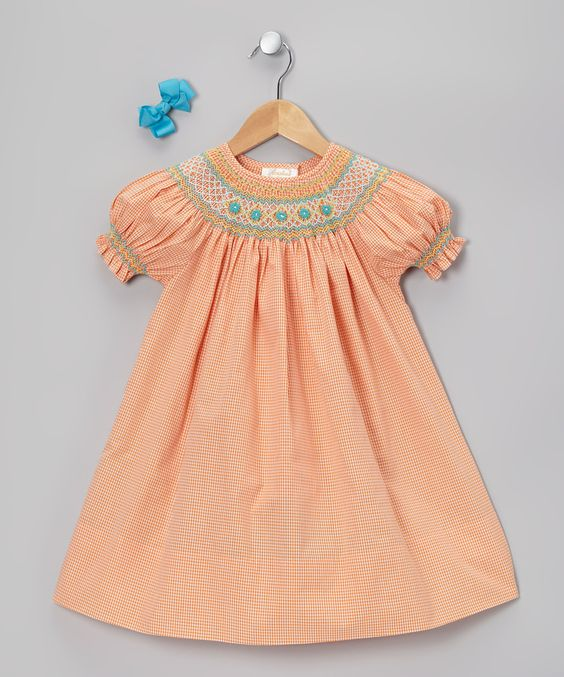 Toddlers dress blues orange toddler girls blue bows dresses girls ps