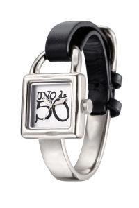 Reloj Atrapado metal/negro Unode50