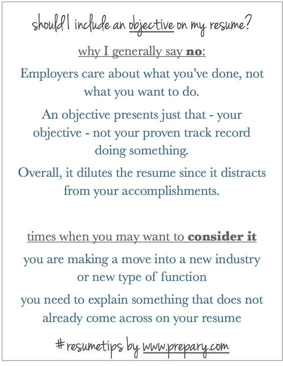 Resume Writing Tips Job Search Pinterest Resume writing and - do you need objective on resume