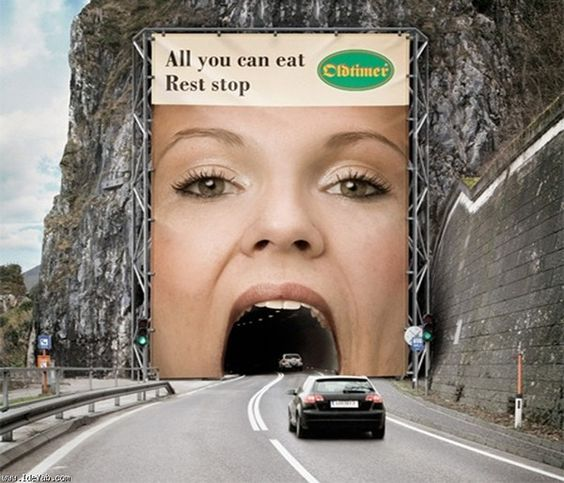 This is how you promote your all-you-can-eat buffet. See more ads that make difference inside.