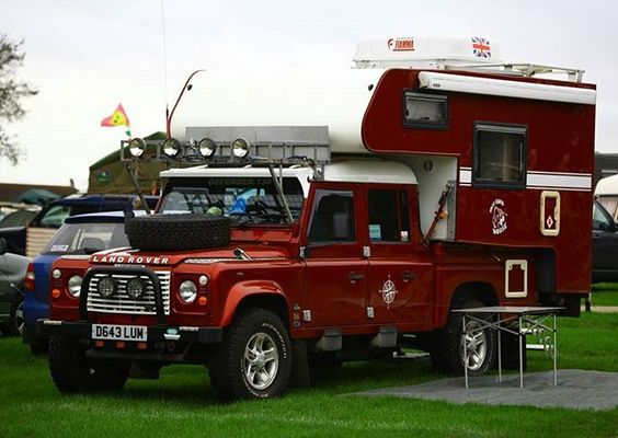 We would like to know if this is your ideal overland machine or would you rather a stock #landrover with a roof tent? #overlander #defender130crewcab #landroverphotoalbum @landrover
