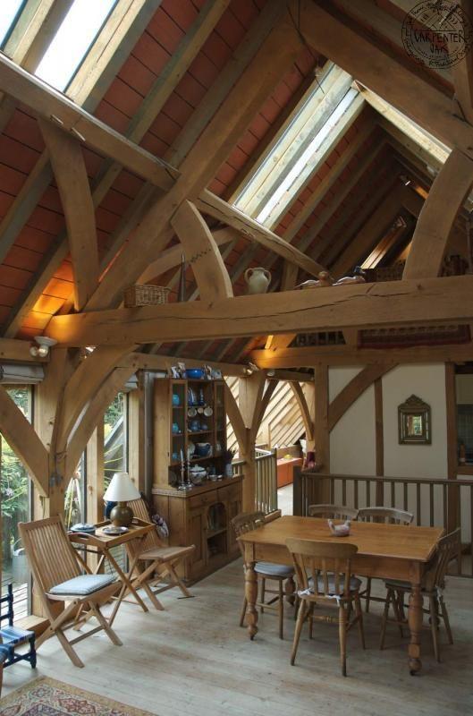 Upside Down Living In Devon Carpenter Oak Dream House